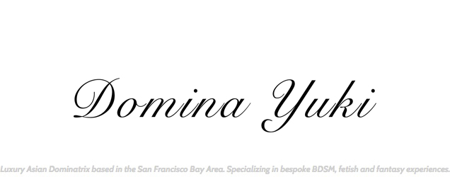 Domina Yuki Logo with Tagline